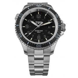 traser H3 109376 Men's Diver's Watch P67 SuperSub Special Set Black