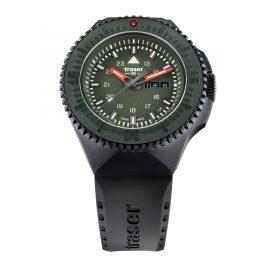traser H3 109859 Herrenuhr P69 Black Stealth Grün mit Kautschukband