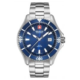 Swiss Military Hanowa 06-5296.04.003 Men's Watch with Stainless Steel Bracelet Blue