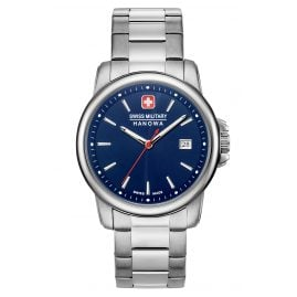 Swiss Military Hanowa 06-5230.7.04.003 Men's Watch Swiss Recruit II Stainless Steel / Blue