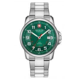 Swiss Military Hanowa 06-5330.04.006 Men's Watch Swiss Grenadier Stainless Steel / Green