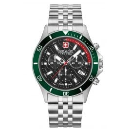 Swiss Military Hanowa 06-5337.04.007.06 Men's Watch Flagship Racer Chrono Stainless Steel