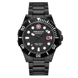 Swiss Military Hanowa 06-5338.13.007 Men's Diver's Watch Offshore Diver Black
