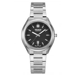 Swiss Military Hanowa 06-7339.04.007 Ladies' Watch Stainless Steel Alpina silver / black