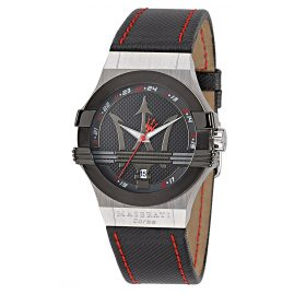 Maserati R8851108001 Herren-Armbanduhr Potenza Schwarz/Rot