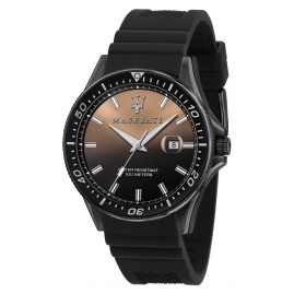 Maserati R8851140001 Men's Wristwatch Sfida Black / Brown