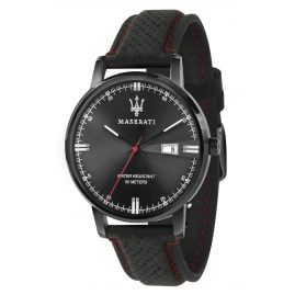 Maserati R8851130001 Men's Watch Eleganza Black / Red
