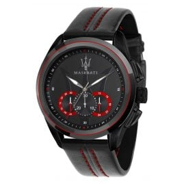 Maserati R8871612023 Chronograph for Men Traguardo Black/Red