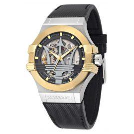 Maserati R8821108037 Automatic Men's Watch Potenza Skeleton Two-Colour