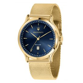 Maserati R8853118014 Men's Watch Epoca gold/blue