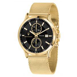 Maserati R8873618007 Herrenuhr Chronograph Epoca gold/schwarz