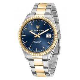 Maserati R8853100027 Herren-Armbanduhr Competizione Bicolor/Blau