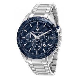 Maserati R8873612043 Herrenuhr Chronograph Traguardo Stahl/Blau