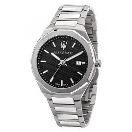 Maserati R8853142003 Herren-Armbanduhr Stile Stahl/Schwarz