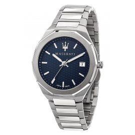 Maserati R8853142006 Herren-Armbanduhr Stile Stahl/Blau