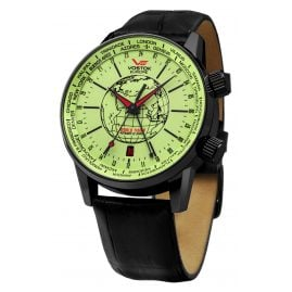 Vostok Europe 5604240 World Timer Automatic Watch