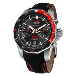 Vostok Europe 6S21-2255295 Rocket N1 Mens Watch Chronograph