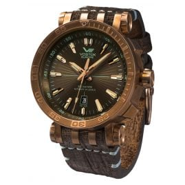 Vostok Europe NH35A-575O285 Automatic Watch Energia Rocket Bronze