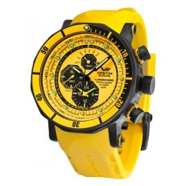 Vostok Europe YM86-620C504 Mens Watch Alarm Chronograph Lunokhod 2