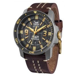Vostok Europe NH35A-546H515 Titanium Mens Autmatic Watch Ekranoplan