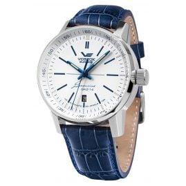 Vostok Europe NH35A-565A594 GAZ 14 Limousine Men's Watch Automatic Blue