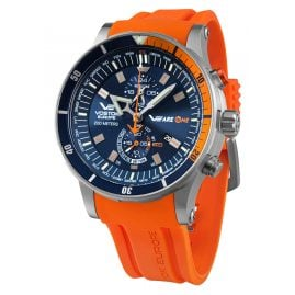 Vostok Europe YM8J-510H434 Herrenuhr VEareONE Special Edition Blau/Orange