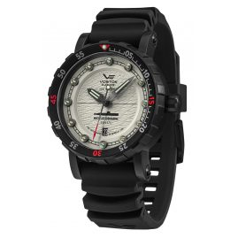Vostok Europe NH35-571C607 Men's Watch Automatic SSN-571 Nuclear Submarine Black