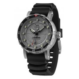 Vostok Europe NH35-571A606 Men's Watch Automatic SSN-571 Nuclear Submarine Grey