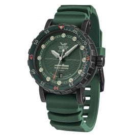Vostok Europe NH35-571F608 Men's Automatic Watch SSN-571 Nuclear Submarine Green