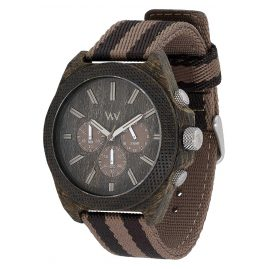 WeWood WW56002 Mens Wooden Watch Phoenix Chrono Wenge Earth
