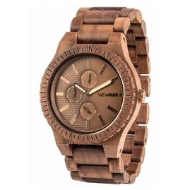 WeWood WW30004 Multifunction Wooden Watch Kos Nut Bronze