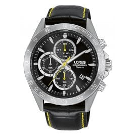Lorus RM373GX9 Men's Watch Chronograph Black/Yellow