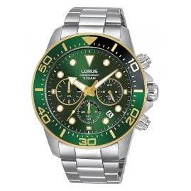 Lorus RT340JX9 Men's Wristwatch Chronograph Green