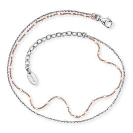 Engelsrufer ERF-LILTWIN-BICOR Anklet Twin two-colour
