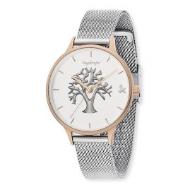 Engelsrufer ERWA-TREE02-MS-MR Ladies' Watch Tree of Life Ø 34 mm