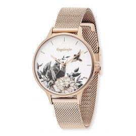 Engelsrufer ERWA-FLOWER1-MR-MR Ladies' Watch Tree of Life Ø 34 mm