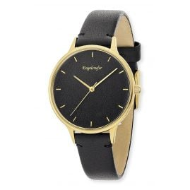 Engelsrufer ERWA-COLOR-LBK2-MG Women's Watch Black Ø 34 mm