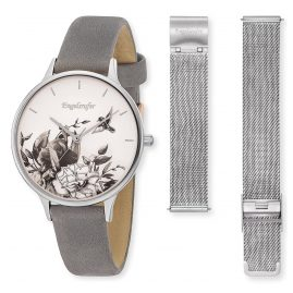 Engelsrufer ERWO-FLOWER-01 Ladies' Watch Flower Ø 34 mm with 2nd Strap