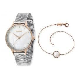 Engelsrufer ERWO-PEARL-01 Damenuhr Pearl Set mit Schmuck-Armband