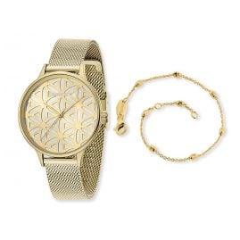Engelsrufer ERWO-LIFL-01 Damenuhr Lebensblume Set mit Armband