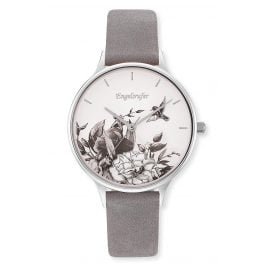 Engelsrufer ERWA-FLOWER1-NGY1-MS Women's Watch Flower black