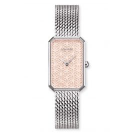 Engelsrufer ERWA-LIFL-MS-RS Ladies' Wristwatch Flower of Life rose