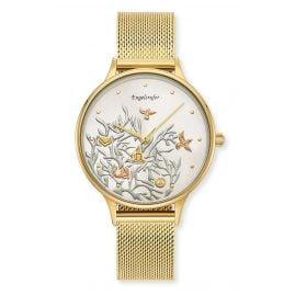 Engelsrufer ERWA-TREE01-MG-MG Damen-Armbanduhr Lebensbaum tricolor