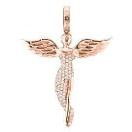 Engelsrufer ERP-ANGEL-SR Pendant Angel Small Rose