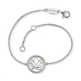 Engelsrufer ERB-LOTUS-ZI Silber-Armband für Damen Lotus