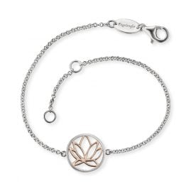 Engelsrufer ERB-LILLOTUS-BICOR Silver Bracelet for Ladies Lotus
