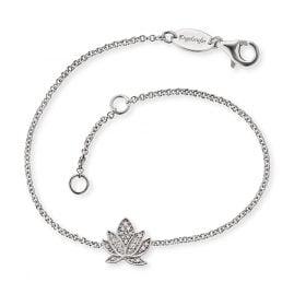 Engelsrufer ERB-LILLOTUS-ZI Ladies´ Bracelet Silver Lotus