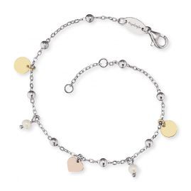 Engelsrufer ERB-LILJOY-PE-TR Silver Ladies' Bracelet Little Joy