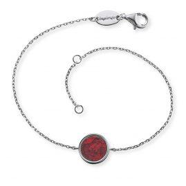 Engelsrufer ERB-LILGEM-RJ Damen-Armband Silber Kraftstein Roter Jaspis