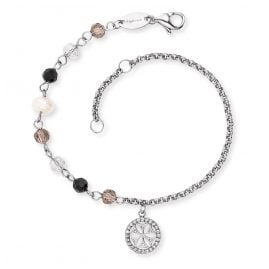 Engelsrufer ERBS-LILLIFL-ZI Ladies' Bracelet Boho Flower of Life
